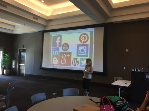 Marla Humphrey - Bonita Unified Reading Specialist - discusses social networks and professional branding